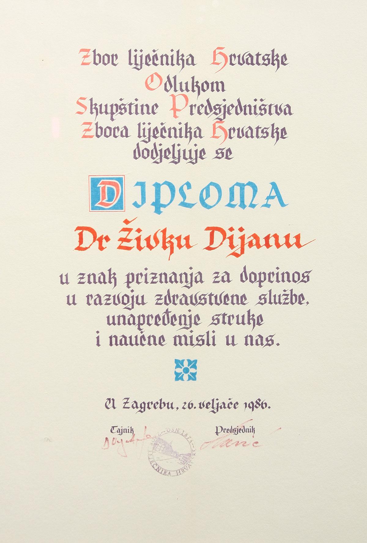 Dr. Živko Dijan